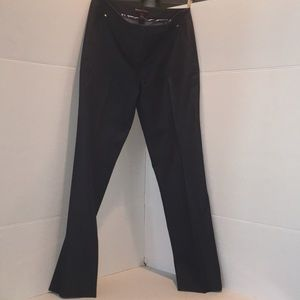 💕 Dana Buchman Dress Dark Grey Slacks Sz 4